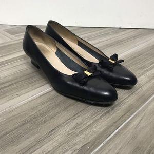 Salvatore Ferragamo Womens Block Heels Size 7.5 AA